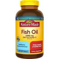 Viên uống dầu cá Nature Made 1200mg Fish Oil