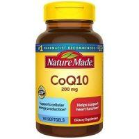 Viên uống Nature Made CoQ10 200 mg hộp 140 viên