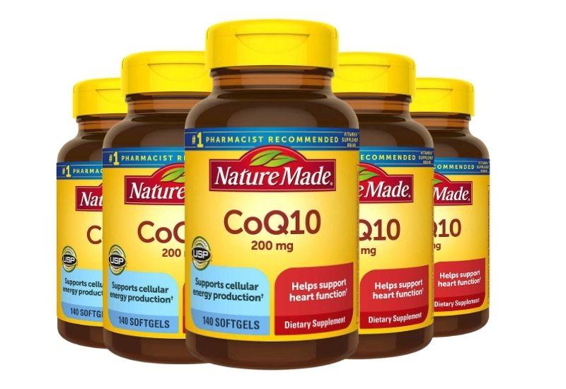 Nature Made CoQ10 200 mg nổi tiếng của thương hiệu Mỹ