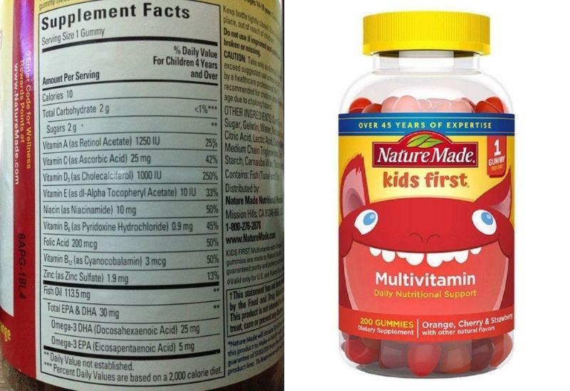 Những thành phần dưỡng chất vô cùng an toàn