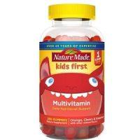 Nature Made kẹo dẻo Kids First Multivitamin Gummies
