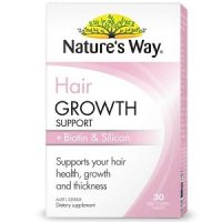 Nature's Way Hair Growth Support + Biotin & Silicon 30 viên