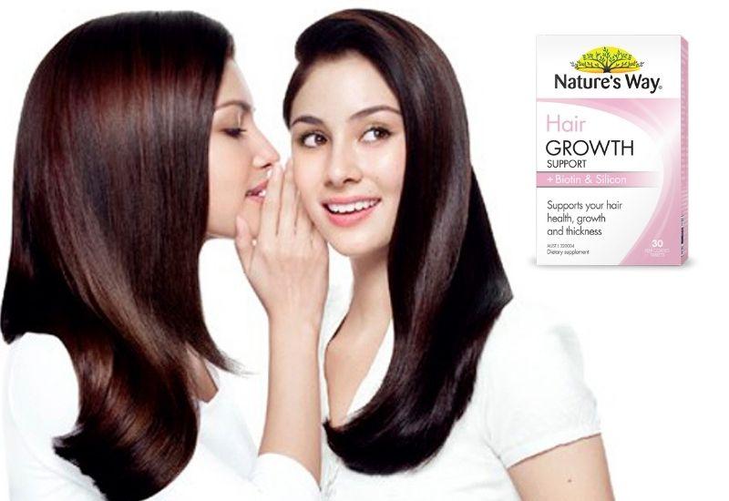 Sản phẩm giúp chăm sóc tóc chắc khỏe
