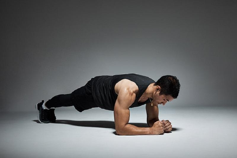 Bài tập Plank là bài tập không thể bỏ qua nếu muốn cải thiện khả năng sinh lý