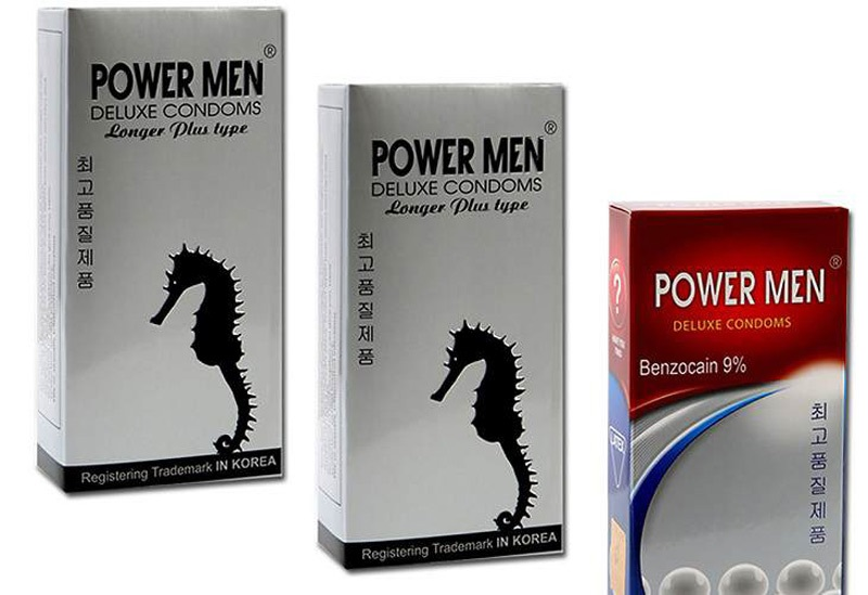 Sản phẩm Power Men được làm từ nhựa cao su tự nhiên cao cấp