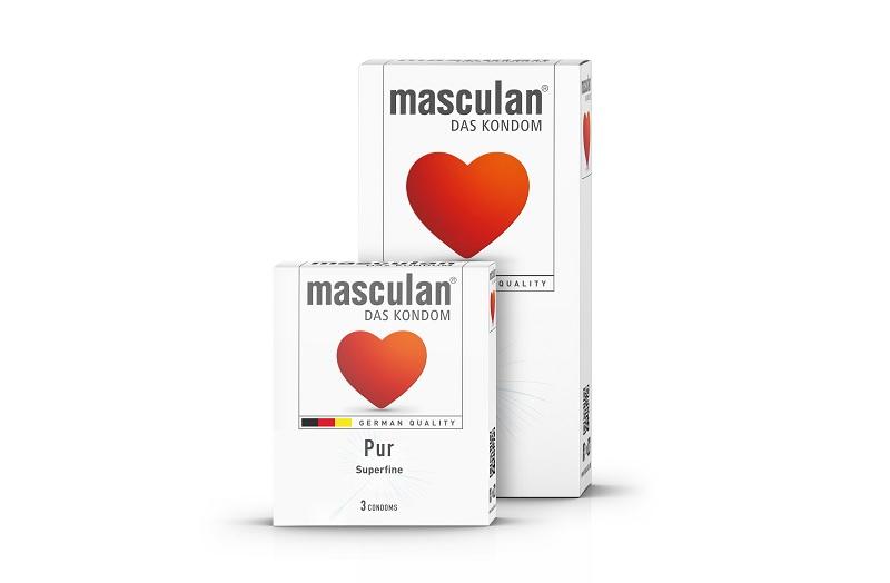 Masculan là sản phẩm bao cao su của Đức