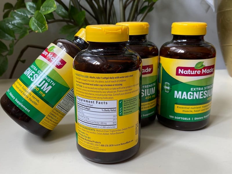 Viên uống bổ sung magie của Nature Made được thị trường đánh giá cao