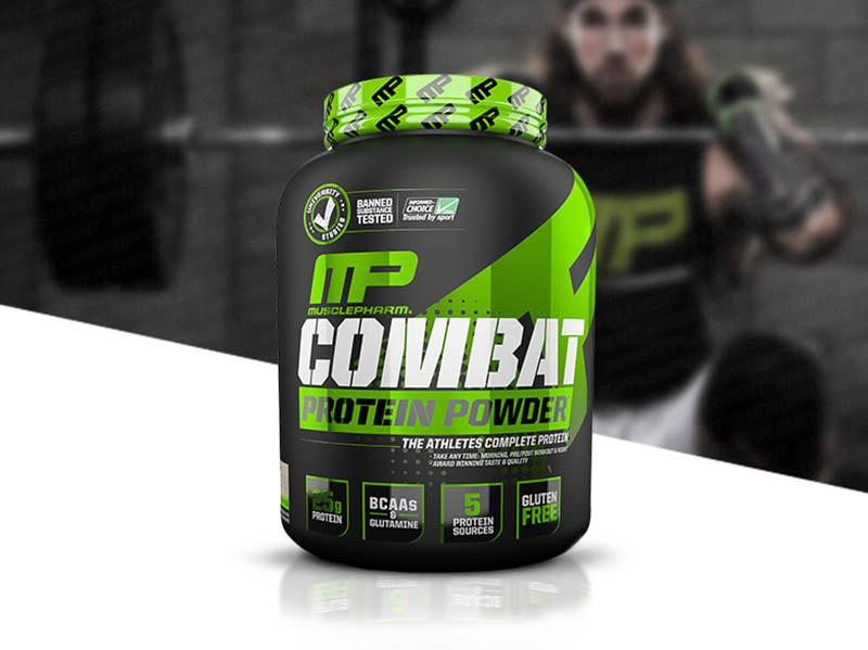Combat Powder của thương hiệu MusclePharm