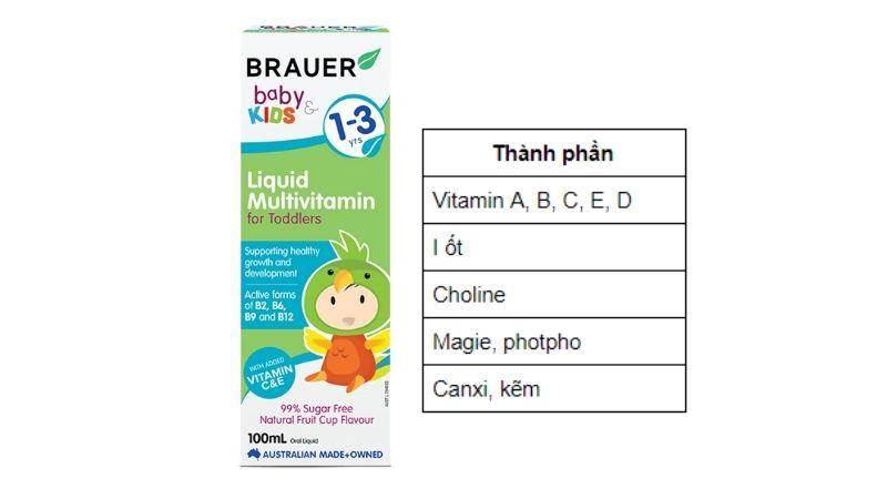 Thành phần của Brauer Liquid