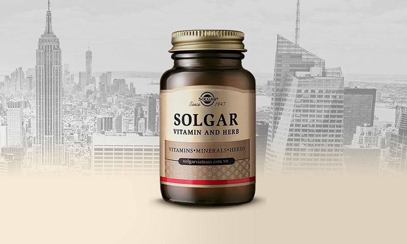 Vitamin E Solgar là thực phẩm chức năng có thành phần hoàn toàn từ tự nhiên