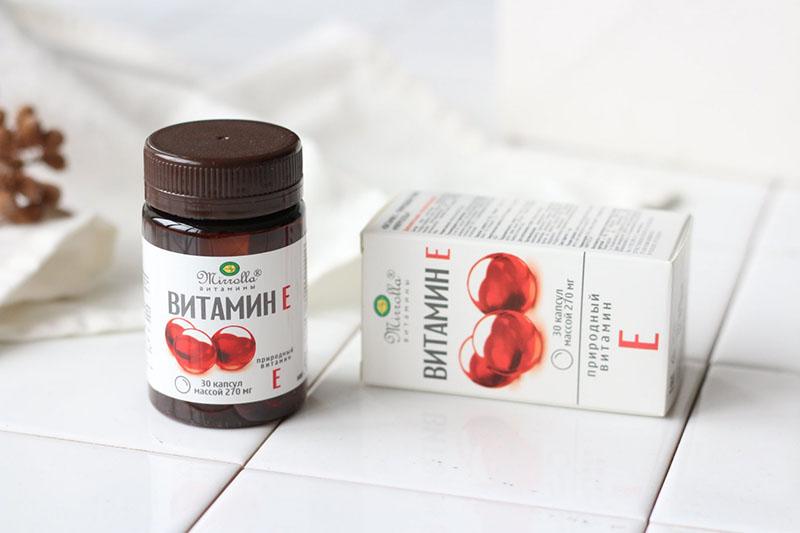 Các loại vitamin E: Mirrolla của Nga