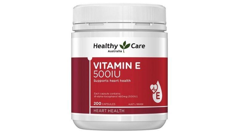 Vitamin E 500IU Healthy Care được khuyên dùng cho người trên 12 tuổi
