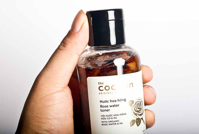 Nước hoa hồng thuần chay Cocoon