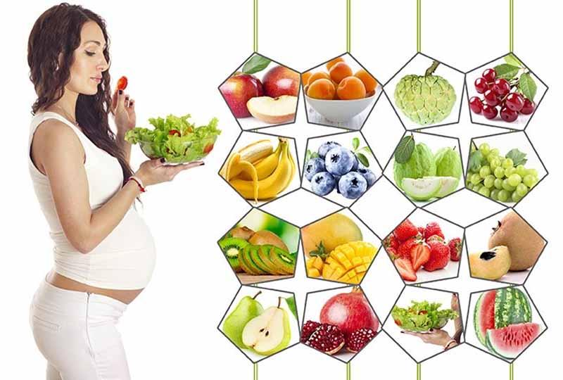 Mẹ bầu cần chú ý đến chế độ dinh dưỡng để con khỏe, mẹ đẹp
