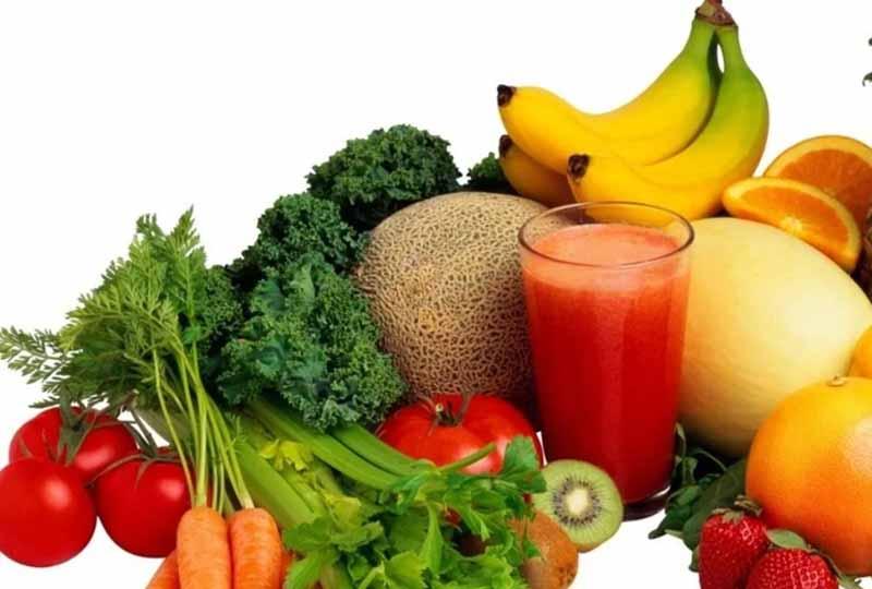 Ăn nhiều rau củ quả tươi rất tốt cho làn da của bạn
