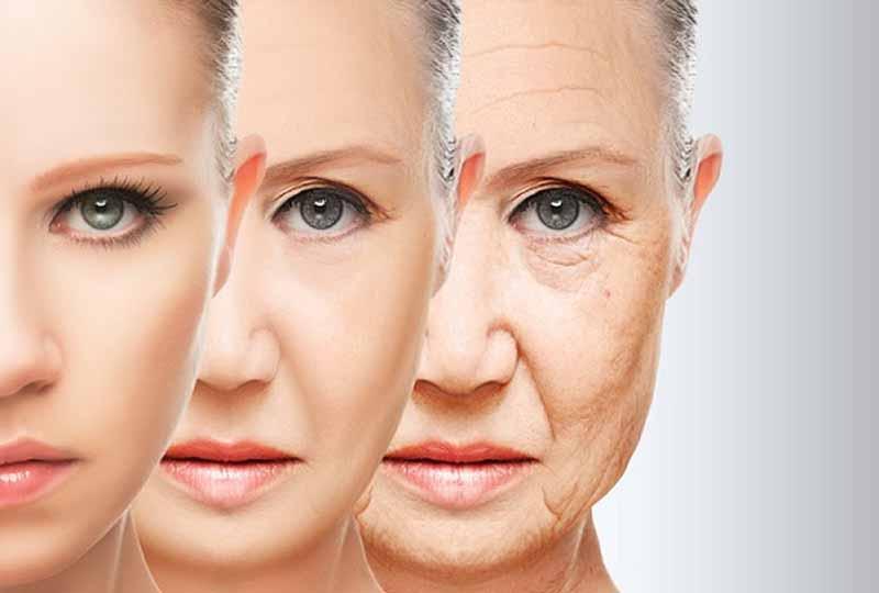 Dấu hiệu lão hóa da thể hiện rõ rệt nhất ở phụ nữ ngoài 30 tuổi