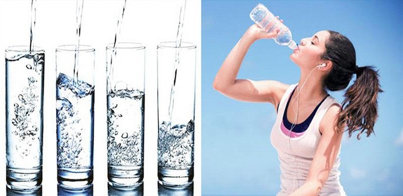 Bổ sung đủ nước để cơ thể khỏe mạnh, làn da luôn căng mịn tràn đầy sức sống
