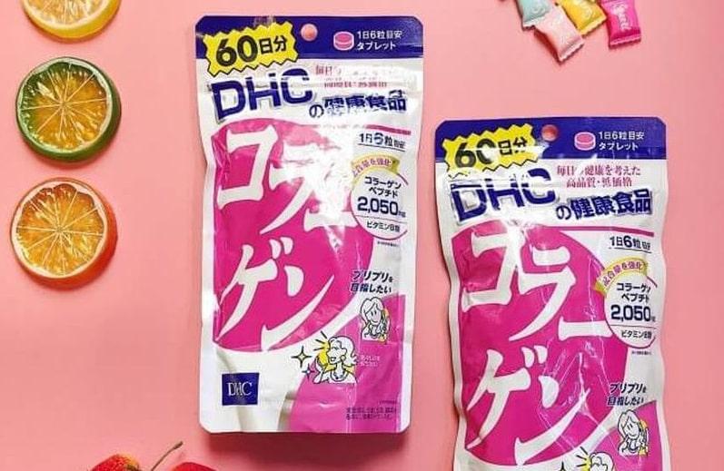 Sản phẩm Collagen DHC giúp làm đẹp da hiệu quả