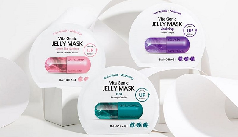Banobagi Vita Genic Jelly Mask giúp chăm sóc da mặt tuổi 20 hiệu quả
