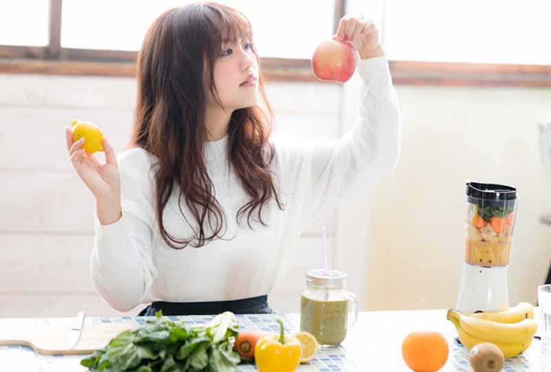 Chế độ ăn uống khoa học sẽ giúp làn da được nuôi dưỡng khỏe mạnh từ sâu bên trong