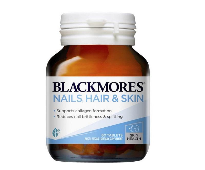 Blackmores Nail Hair Skin chăm sóc da mùa hè hiệu quả từ sâu bên trong