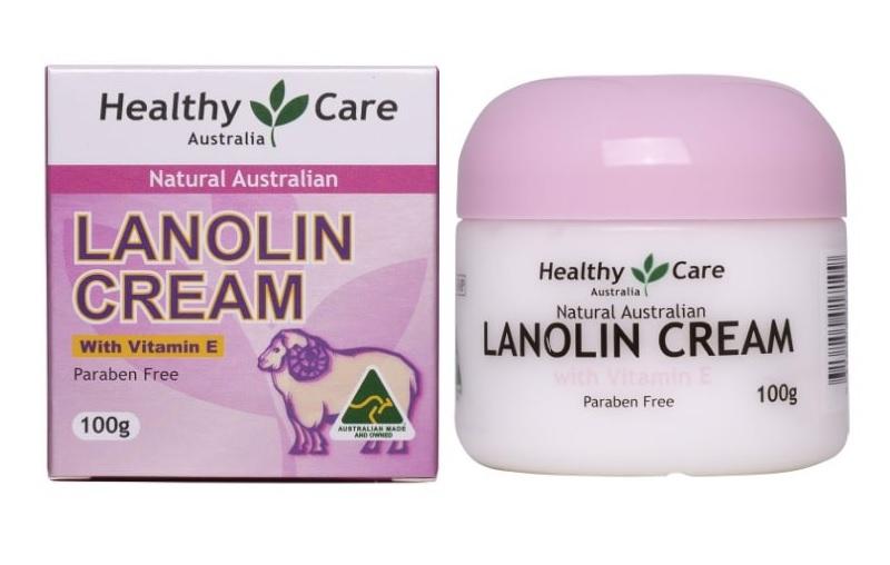 Healthy Care Lanolin Cream With Vitamin E giúp làn da khỏe đẹp như ý