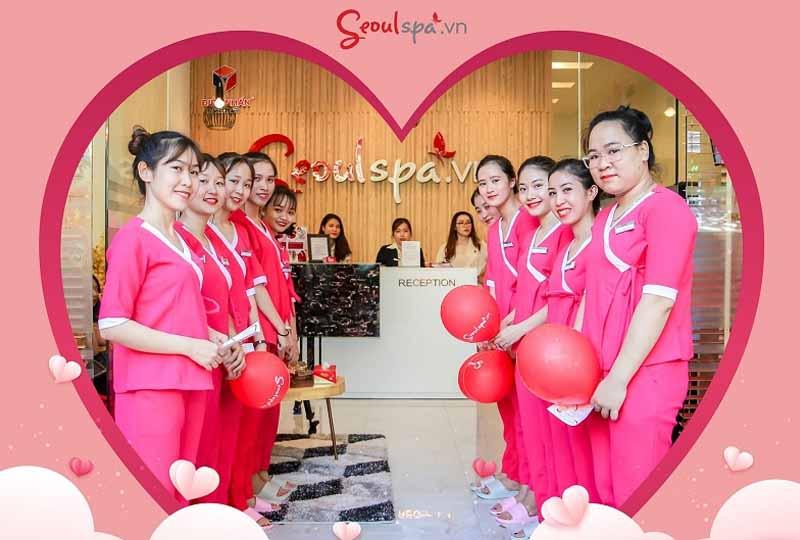 Hình ảnh nhân viên tại Seoulspa.Vn