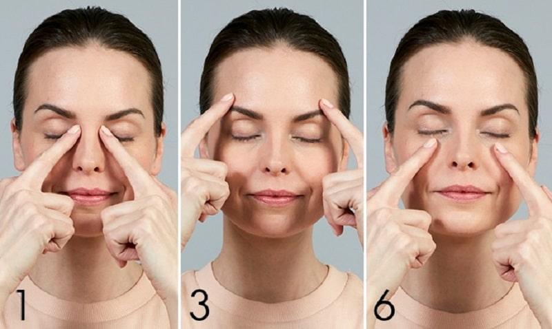 Nếu có thời gian, bạn cũng nên massage da mặt thường xuyên để thư giãn các cơ