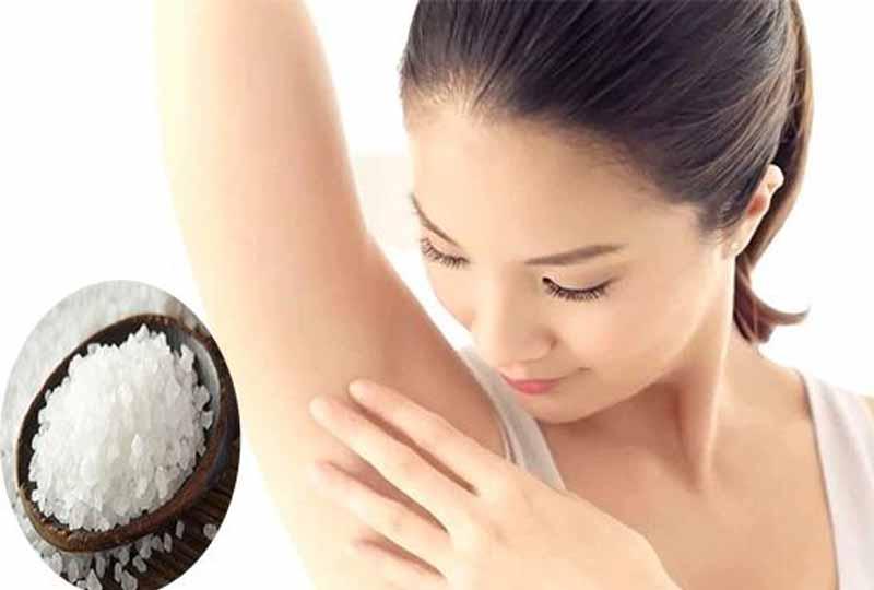 Sử dụng phèn chua ngăn ngừa mùi hôi cơ thể hiệu quả