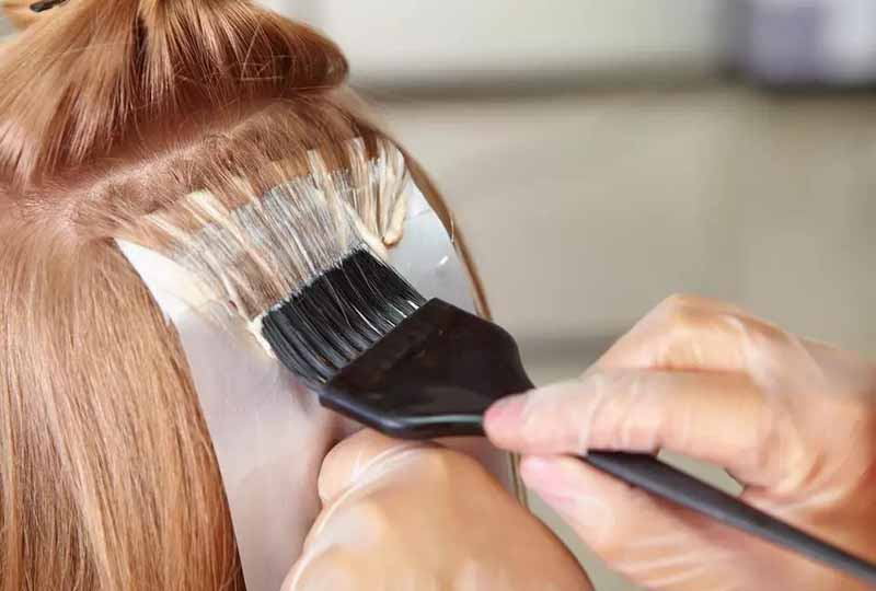Hạn chế dùng hóa chất thường xuyên lên tócphần tóc nhuộm