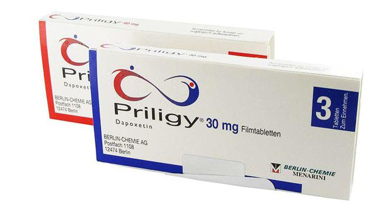 Priligy là sản phẩm hỗ trợ chữa rối loạn cương tại nhà của Thụy Sĩ