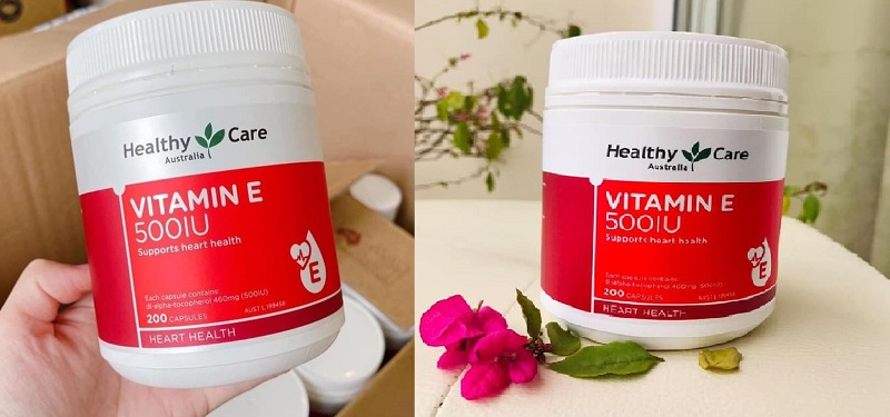 Viên uống Healthy Care Vitamin E Healthy Care 500IU