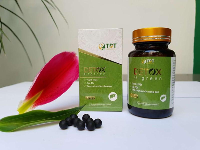 Detox Orgreen sản phẩm chức năng giúp thanh lọc cơ thể toàn diện