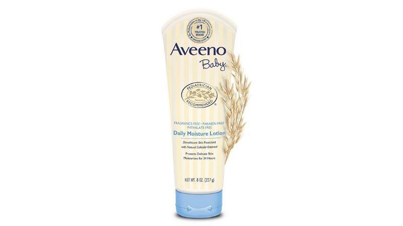 Kem trị nẻ mặt Aveeno Baby Daily Moisture Lotion