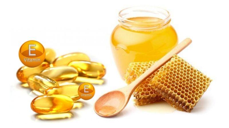 Mật ong và vitamin E được rất nhiều người sử dụng hiện nay