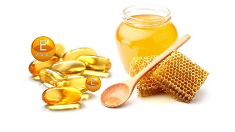 Mật ong kết hợp với vitamin là công thức làm đẹp tuyệt vời