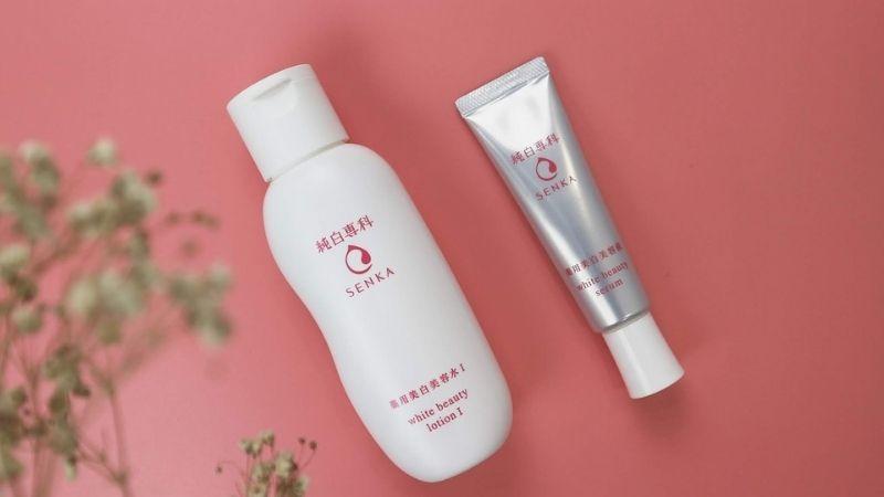 Senka White Beauty Lotion nằm trong danh sách sản phẩm thương hiệu bình dân được ưa chuộng tại Nhật Bản