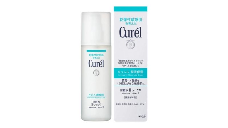 Lotion Curel Intensive Moisture Care Moisture phù hợp với làn da nhạy cảm
