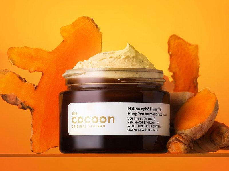 Mặt nạ dưỡng da từ nghệ Cocoon