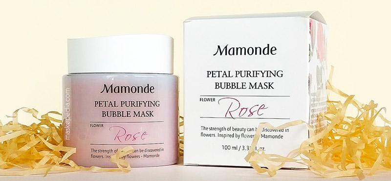 Mamonde Petal Purifying Bubble Mask thải độc da