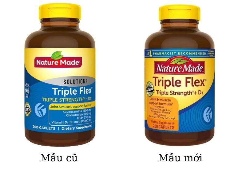 Nature Made Triple Flex bồi bổ xương khớp chắc khỏe