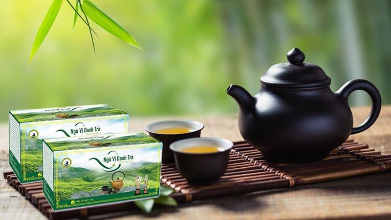 Ngũ Vị Danh Trà được phát triển từ dược trà của danh y Hải Thượng Lãng Ông