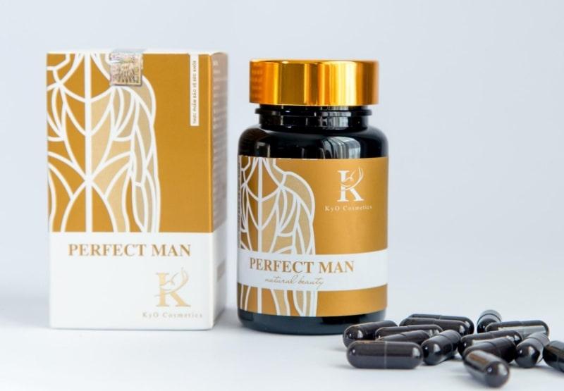 Perfect Man là thực phẩm chức năng có tác dụng hỗ trợ các vấn đề về sinh lý nam.