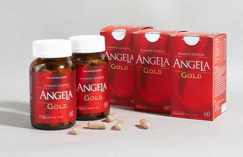 Sâm Angela Gold là dòng sản phẩm chức năng dành riêng cho chị em phụ nữ