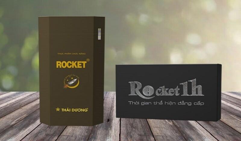 Rocket 1h là sản phẩm được nhiều quý ông tin dùng hiện nay