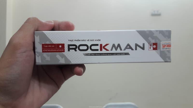 Rockman là thực phẩm chức năng hỗ trợ cải thiện sức khỏe sinh lý nam