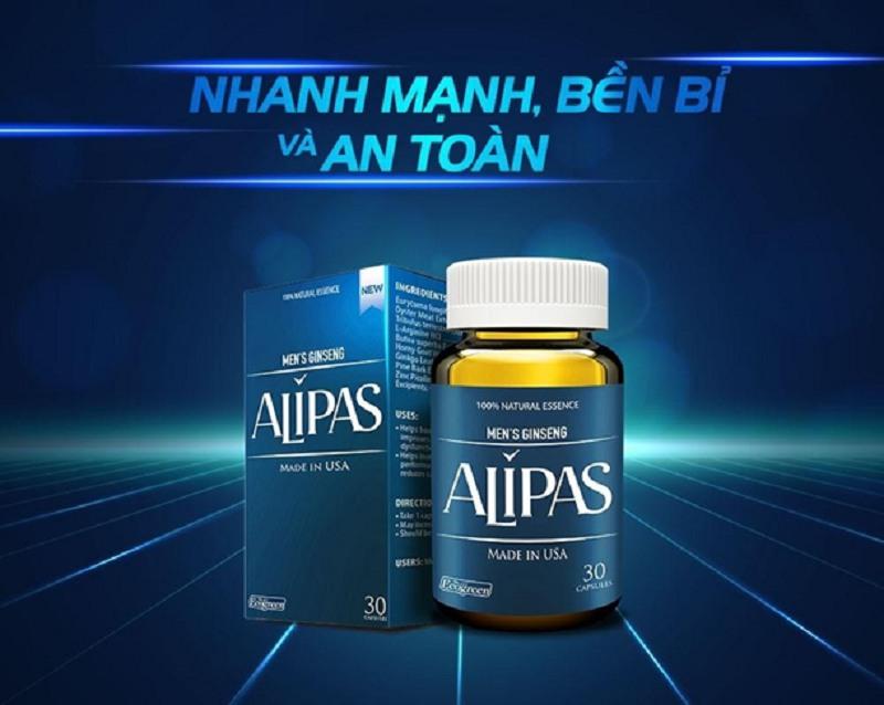 Sâm Alipas giúp tăng cường Testosterone tự nhiên, đem lại hiệu quả ổn định lâu dài