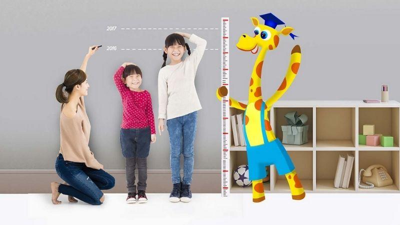 Để trẻ phát triển chiều cao tối đa cần bổ sung cho bé canxi cùng các dưỡng chất thiết yếu