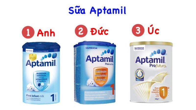 Sữa Aptamil nhập khẩu chính hãng