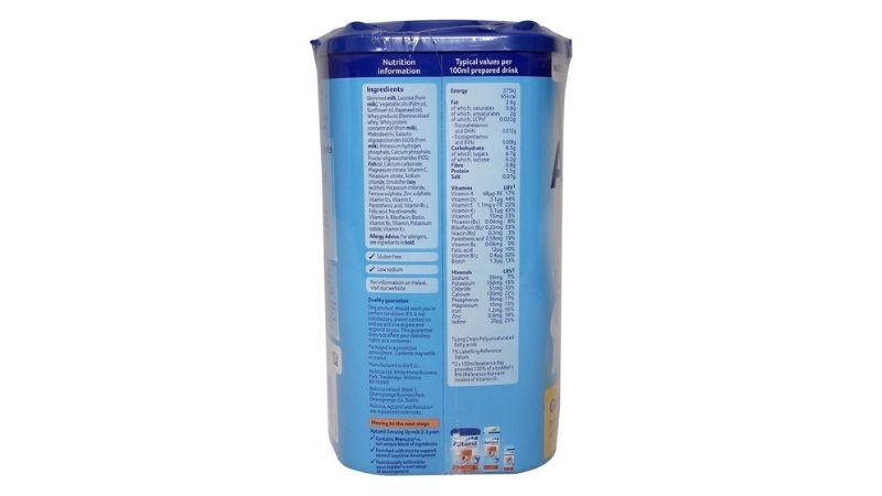 Công thức điều chế sữa đã được chứng nhận khoa học